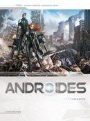 Couverture Invasion - Androïdes, tome 3