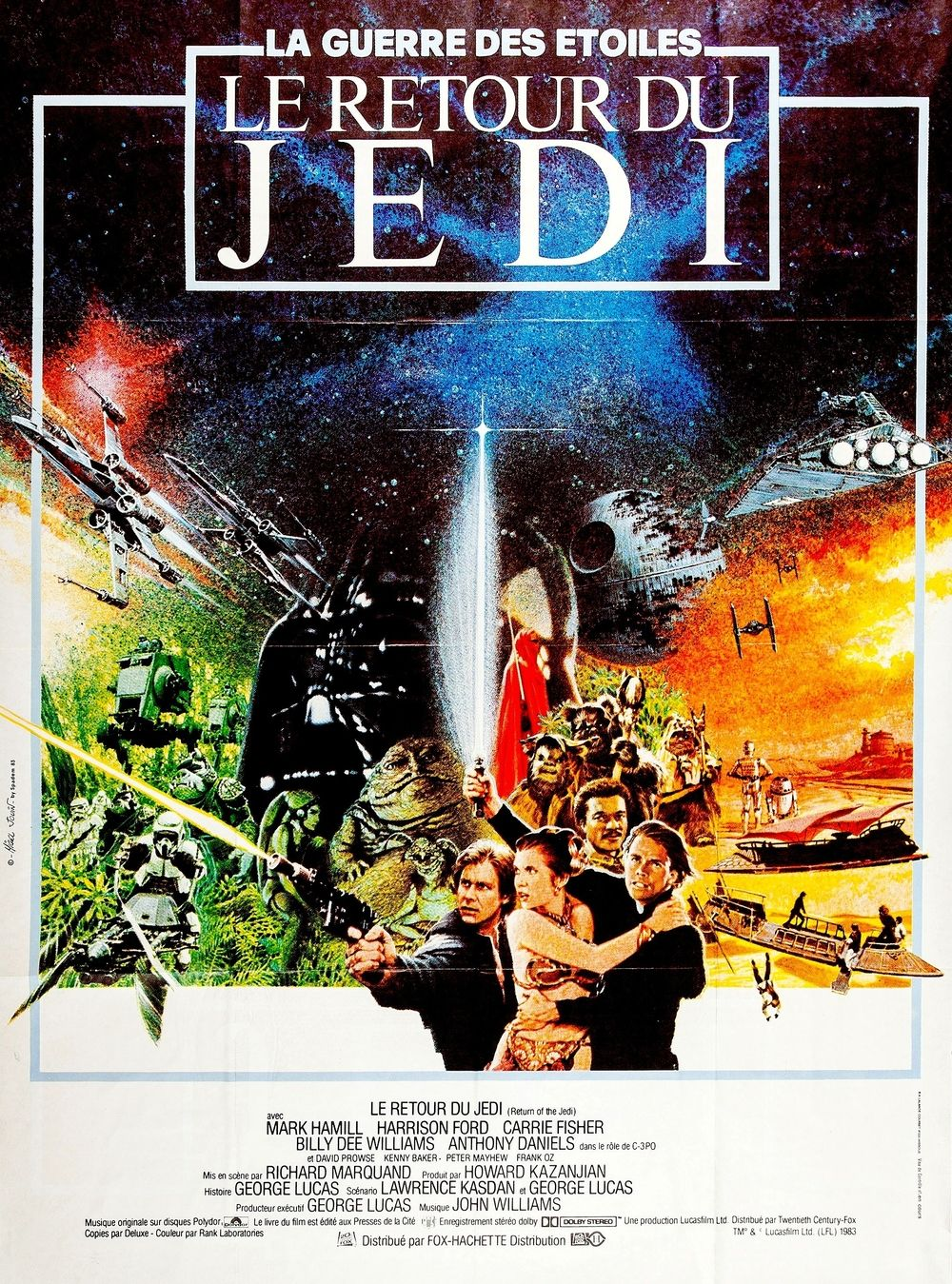 le retour du jedi film 1983 senscritique. Black Bedroom Furniture Sets. Home Design Ideas