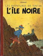 Couverture Les aventures de Tintin: L'île Noire (deuxième édition)