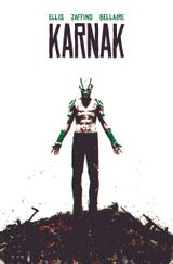 Couverture Flaw In All Things - Karnak, tome 1