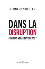 Couverture Dans la disruption