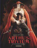 Couverture Le troisième magicien - Arthus Trivium, tome 2