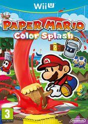 Jaquette Paper Mario : Color Splash