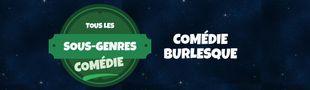 Cover Tous les sous-genres de la COMEDIE : Burlesque