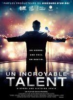 Affiche Un incroyable talent