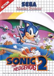 Jaquette Sonic the Hedgehog 2 (8 bits)