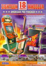 Jaquette 18 Wheeler : American Pro Trucker