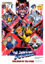 Jaquette X-Men : Children of the Atom