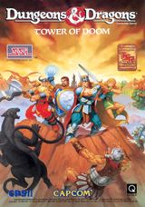 Jaquette Dungeons & Dragons : Tower of Doom