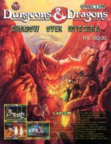 Jaquette Dungeons & Dragons : Shadow over Mystara