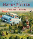 Couverture Harry Potter et la chambre des secrets (illustré par Jim Kay)