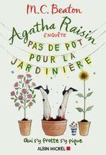 Couverture Agatha Raisin enquête - Pas de pot pour la jardinière