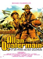Affiche Allan Quatermain et les Mines du roi Salomon