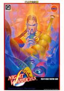 Jaquette Night Warriors : Darkstalkers' Revenge