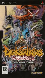 Jaquette Darkstalkers Chronicle : The Chaos Tower