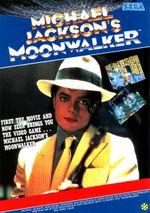 Jaquette Michael Jackson's Moonwalker