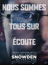 Affiche Snowden