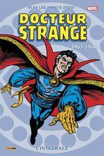Couverture 1963-1966 - Docteur Strange : L'Intégrale, tome 1
