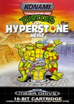 Jaquette Teenage Mutant Hero Turtles : The HyperStone Heist