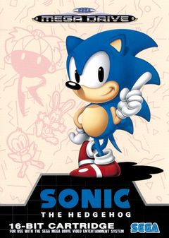 Jaquette Sonic the Hedgehog