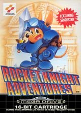 Jaquette Rocket Knight Adventures