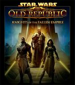 Jaquette Star Wars : The Old Republic - Knights of the Fallen Empire