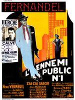 Affiche L'Ennemi public n° 1