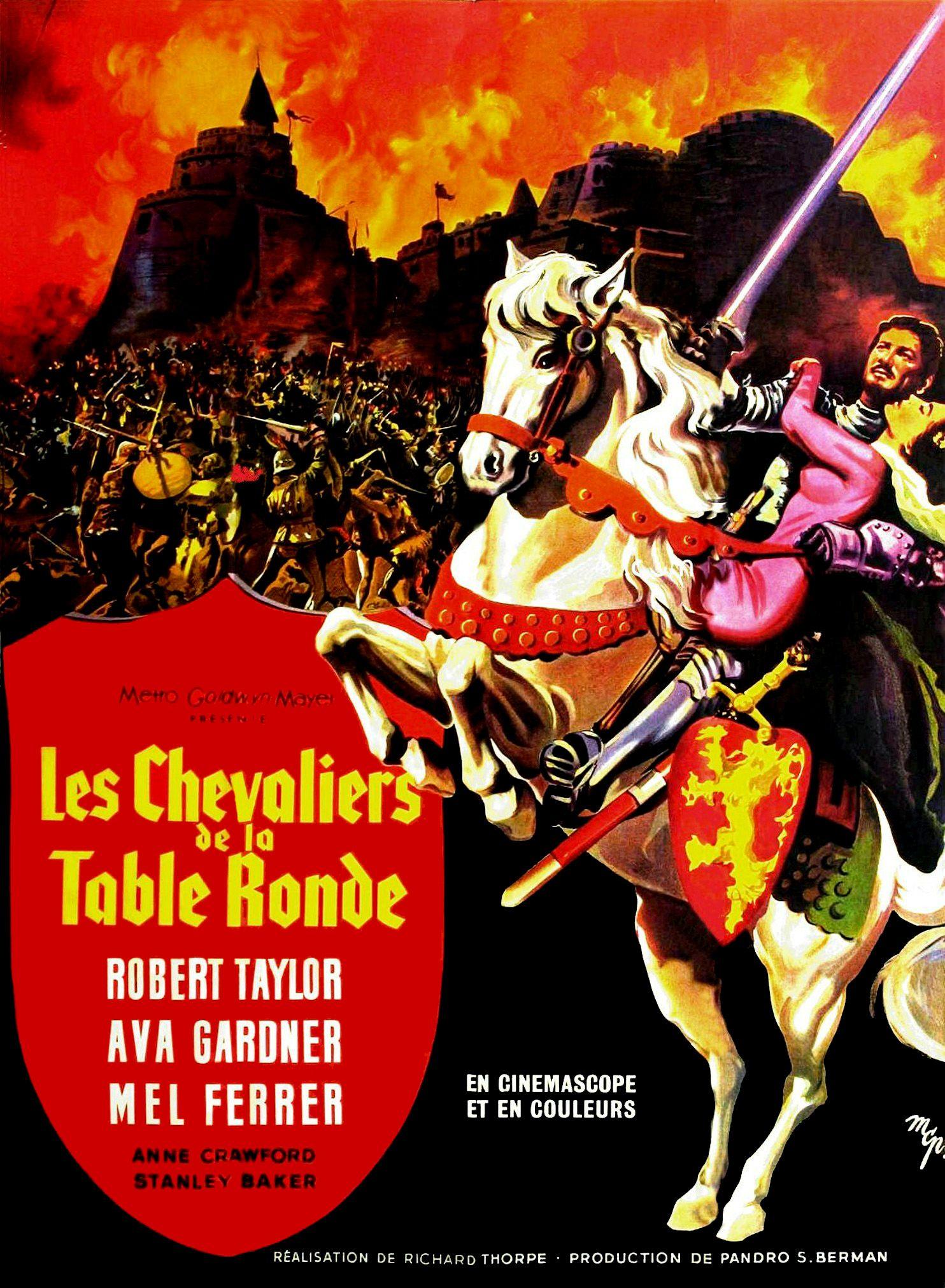 Avis Sur Le Film Les Chevaliers De La Table Ronde 1953 Par
