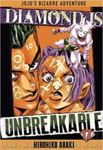 Couverture Diamond is Unbreakable, Vol.17 - Jojo's Bizarre Adventure (Saison 4), tome 45