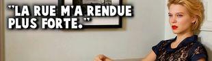 Cover Si tu étais allé à l'école de la vie comme Léa Seydoux, le film aurait duré vingt minutes. Mais il faut toujours que tu n'en fasses qu'à ta tête.