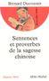 Couverture Sentences et proverbes de la sagesse chinoise
