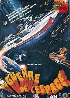 Affiche La Guerre de l'espace