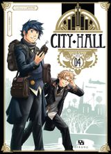 Couverture City Hall, tome 4