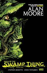 Couverture Saga of the Swamp Thing : Book One.