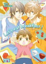 Couverture Let's eat breakfast !