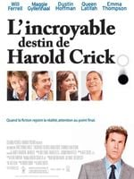 Affiche L'Incroyable Destin de Harold Crick