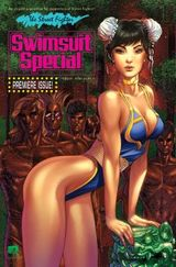 Couverture street fighter : swimsuit special (2016)