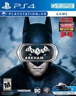 Jaquette Batman: Arkham VR