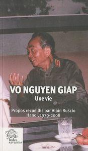 Couverture Le général Giap par lui-même