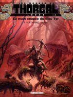 Couverture La Main coupée du dieu Tyr - Les mondes de Thorgal : Louve, tome 2