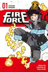 Couverture Fire Force