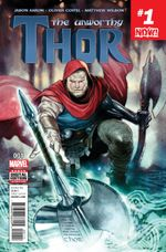 Couverture The Unworthy Thor (2016)