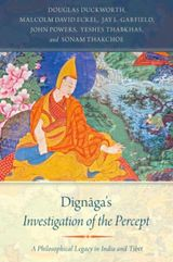 Couverture Dignaga's Investigation of the Percept