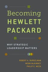 Couverture Becoming Hewlett Packard