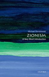 Couverture Zionism: A Very Short Introduction