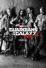 Affiche Les Gardiens de la galaxie : Vol. 2