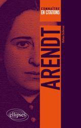 Couverture Connaître Arendt en 50 citations commentées