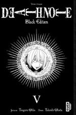 Couverture Death Note (Black Edition), tome 5