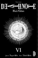 Couverture Death Note (Black Edition), tome 6