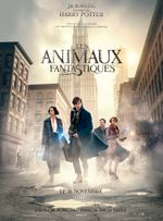 Affiche Les Animaux fantastiques